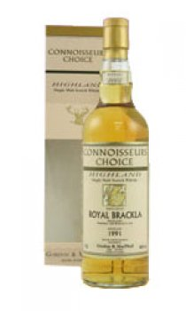 Royal Brackla - 1991 Gordon & MacPhail Connoisseurs Choice Range