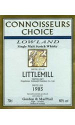 Littlemill - 1991 Gordon & MacPhail Connoisseurs Choice Range