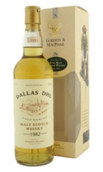 DALLAS DHU - 1982 The Gordon & MacPhail Speyside Malt Range
