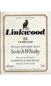 Linkwood - 15 Year Old Gordon & MacPhail Speyside Malt Range