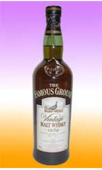 FAMOUS GROUSE - Vintage Malt Whisky 1992