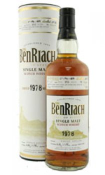 BENRIACH - Distilled 1978 26 Year Old Limited Release