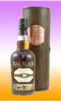 BALBLAIR - 38 Year Old Wooden Tube Ltd Edition