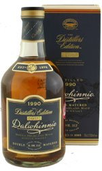 DALWHINNIE - Distillers Edition 1990 Oloroso Finish