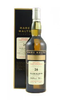 GLEN ALBYN - 26 Year Old Distilled 1975