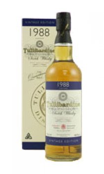 TULLIBARDINE - Distilled 1988