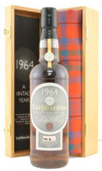 TULLIBARDINE - Distilled 1964 Cask Strength, Ltd Edition Numbered Bottles