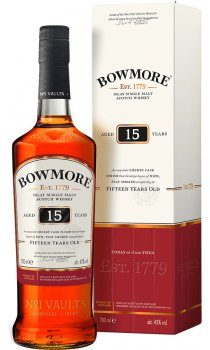 Bowmore - Darkest 15 Year Old