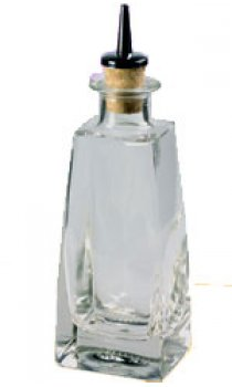 Dash Bottle - Square Glass