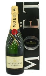 MOET & CHANDON - NV Swarovski Encrusted Bottle