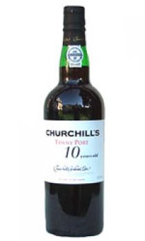 CHURCHILLS - Tawny 10 Year Old