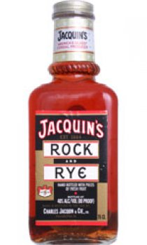 Jacquins - Rock and Rye