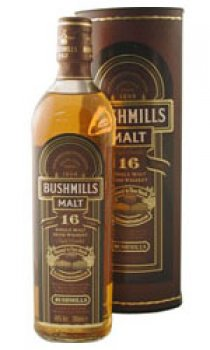 BUSHMILLS - Three Wood 16 Year Old