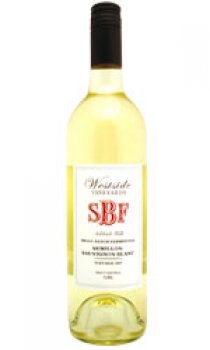 WESTSIDE VINEYARDS - SBF Semillon Sauvignon Blanc 2007