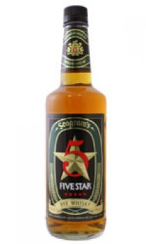 SEAGRAMS - 5 Star Rye Whisky