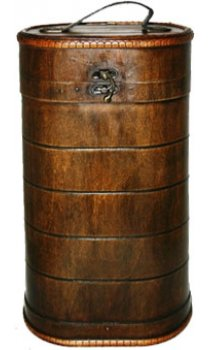 Royal Oak - 2 Bottle Round Gift Box