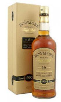 BOWMORE - 16 Year Old Sherry Matured 1990