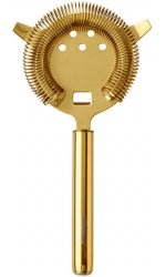 Urban Bar - Gold Plated Hawthorn Strainer