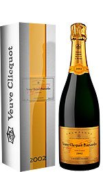 VEUVE CLICQUOT - Vintage Reserve 2002 with Metal Gift Box