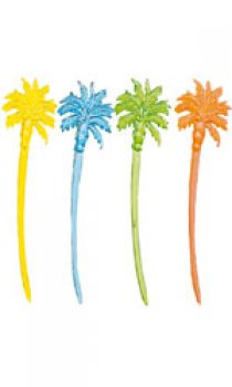 PADERNO - Palm Tree Plastic Tooth Picks