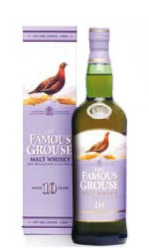 FAMOUS GROUSE - 10 Year Old Malt