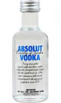 Absolut - Blue Miniature