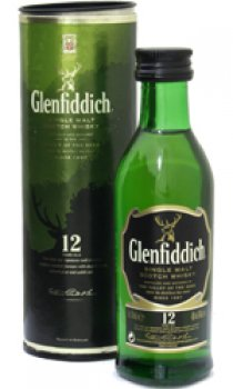 Glenfiddich - 12 Year Old Miniature