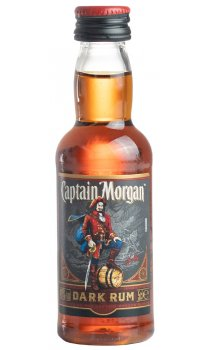 Captain Morgan - Black Label Miniature