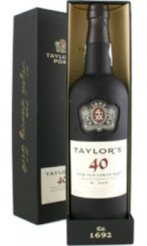 Taylors 40 Year Old Tawny 75cl Bottle Thedrinkshopcom