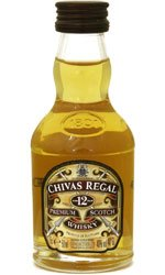 Chivas Regal - 12 Year Old Miniature