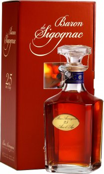 Baron de Sigognac - 25 Year Old Armagnac Decanter