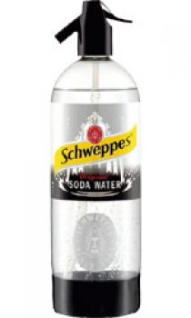 SCHWEPPES - Soda Water Syphon