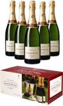 Laurent Perrier - Brut L-P Case With Ice Bucket