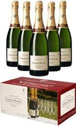 Laurent Perrier - Brut L-P Limited Edition Case With Glasses