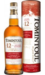 Tomintoul - 12 Year Old Oloroso Sherry Cask Finish