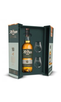 Arran - 10 Year Old Gift Pack With Glasses