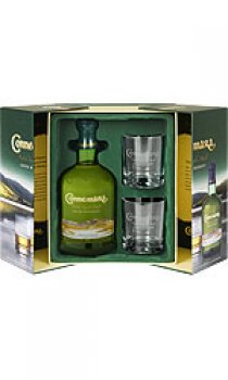 Connemara - Peated Single Malt Gift Pack and Glasses