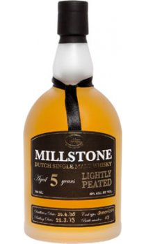 Millstone Distillery - 5 Year Old Lightly Peated Dutch Single Malt