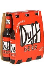 Duff Beer - 6 Bottle Case