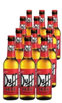 Duff Beer - 12 Bottle Case