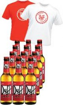 Duff Beer - 24 Bottle Case