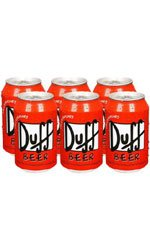 Duff Beer - 6 Can Case