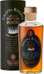 Sibona - Grappa Reserve Port Wood Finish