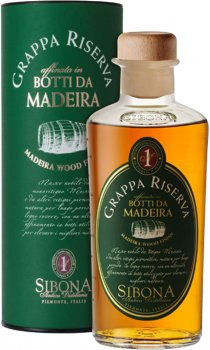 Sibona - Grappa Reserve Madeira Wood Finish
