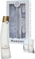 Mamont - Siberian Wheat Vodka Gift Pack With Glasses