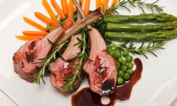 Lamb Chops & Rosemary