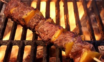Recipe Skewered BBQ Beef