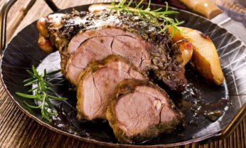 Recipe Slow Roasted Lamb with Garlic and Rosemary
