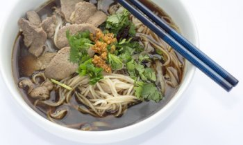 Thai Style Beef and Noodles
