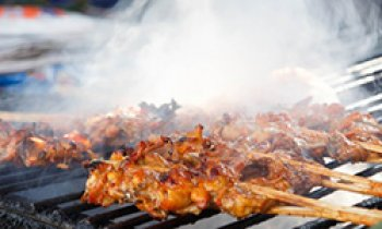 Recipe Smoky Barbecued Chicken
